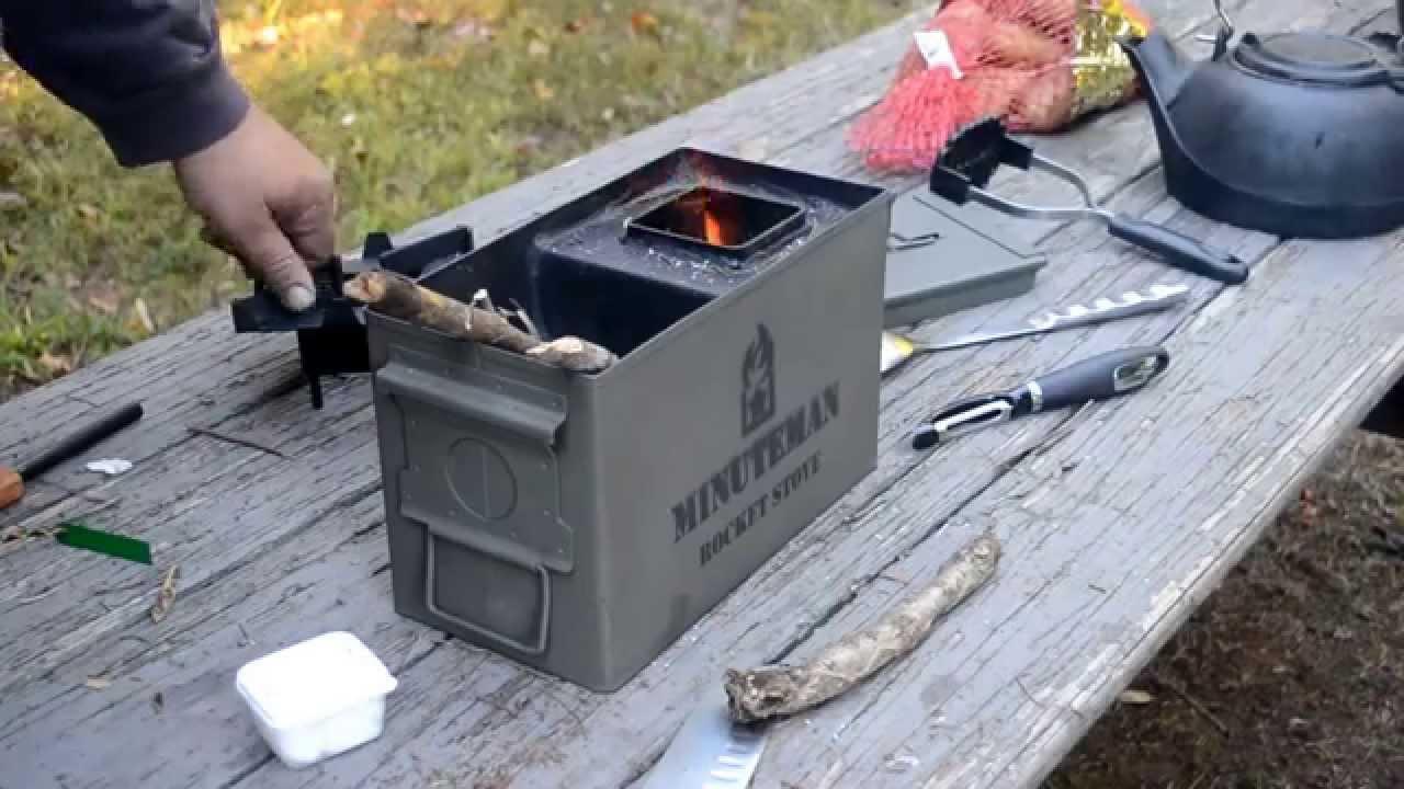 Minuteman Rocket Stove Youtube