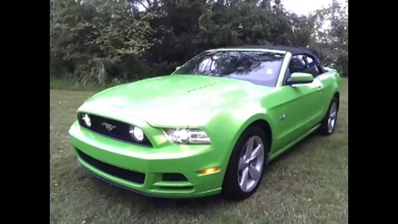 Ford Of Murfreesboro >> 2013 FORD MUSTANG GT CONVERTIBLE 5.0 GOTTA HAVE IT GREEN 401A FORD OF MURFREESBORO 888-439-1265 ...