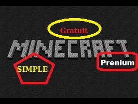 Avoir Minecraft Premium Gratuit SANS LOGICIEL !!