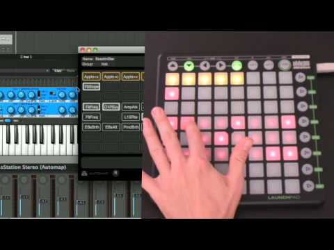 Novation // Launchpad Tutorial: Part 6 —Using Launchpad with Automap (English)
