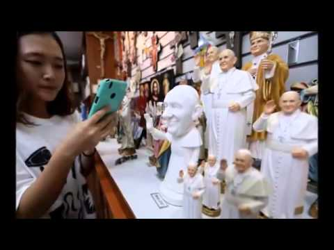 Pope Francis to beatify 124 South Korean Catholic Martyrs   BREAKING NEWS 16 AUG 2014 HQ