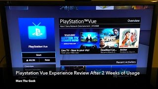 Playstation Vue Review After 2 Weeks of Usage (Now on Roku!)
