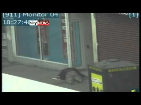 London Riots: New CCTV Footage Of Attack On Pensioner In Newham