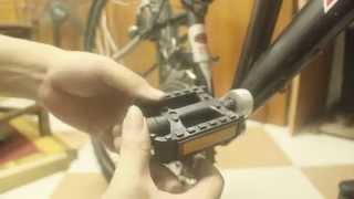 Cách thay Pê đan xe đạp