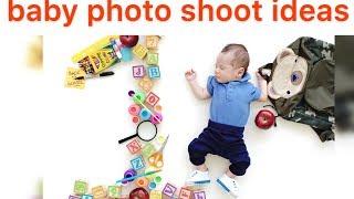 BABY PHOTO SHOOT IDEAS |Creative Baby Photography Ideas easy diy at home