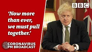 Play this video Boris Johnson announces new England lockdown р Covid briefings BBC News live - BBC