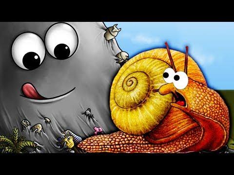 Tasty Planet ПРОЖОРЛИВАЯ СЛИЗЬ СБЕЖАЛА ИЗ ЛАБОРАТОРИИ Мультик игра Игровое видео для детей
