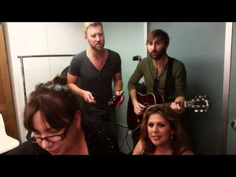 Team Lady Antebellum does St. Jude's No Shave November!