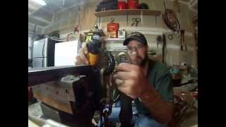Kryptonite Evolution Series 4 Disk Lock Vs CordlessAngle Grinder Cut
