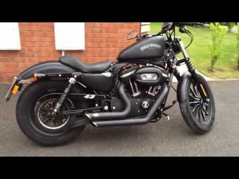 Harley Davidson Iron 883 with 1200 conversion
