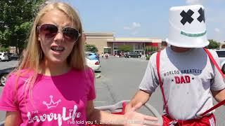 Marshmello & Anne-Marie FRIENDS *OFFICIAL FRIENDZONE ANTHEM* PARODY - Awkward Dad & Teen Music Video
