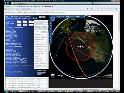 Amateur Radio Satellite Tracking Program for International Space Station and Space Shuttle
