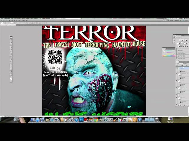 Factory of Terror Graphic TIme Lapse
