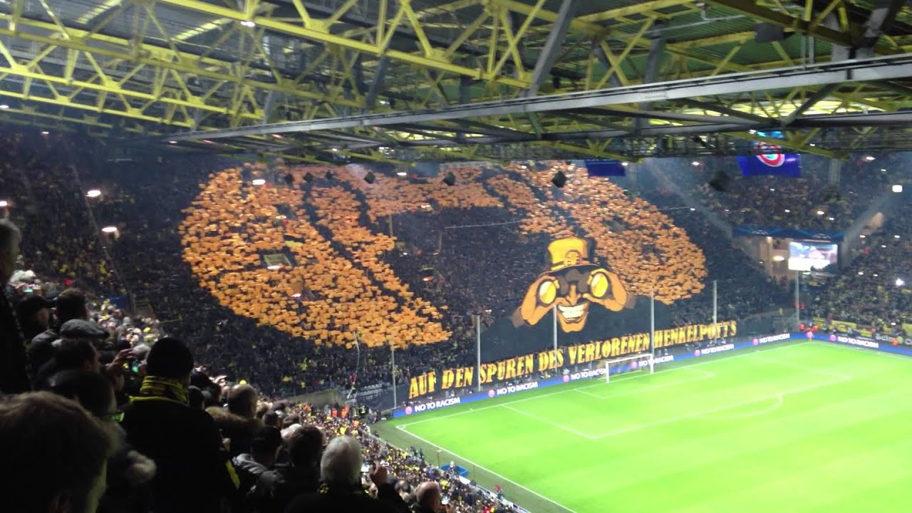 Bvb Champions League Final Bvb Malaga Champions League