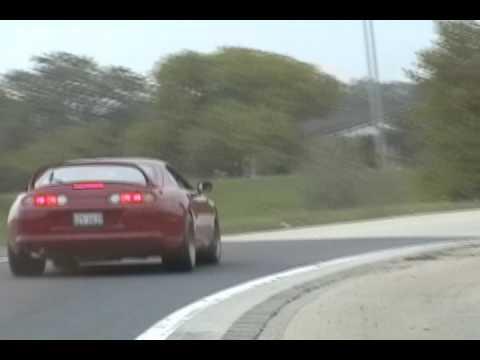 Supra vs Porsche turbo