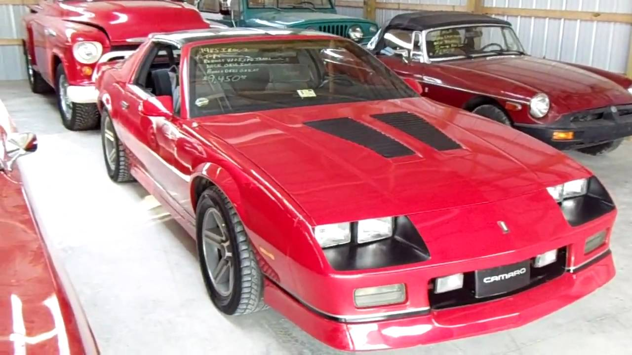 1985 Chevrolet Camaro IROC-Z Red with a 305HO and a Five ...