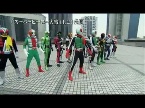 Kamen Rider vs Super Sentai: confira o trailer pôster do filme