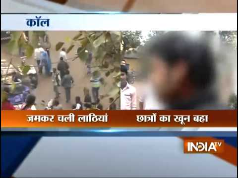 Clashes break out between ABVP & TMC supporters in WB