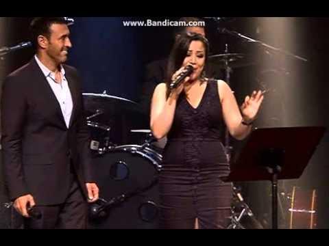 Kazem Al Saher   انا كاظم الساهر و يسرى محنوش في اغنية ساعة 2013 video