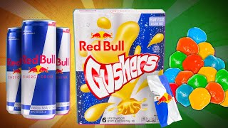 Red Bull Gushers Taste Test | SNACK SMASH