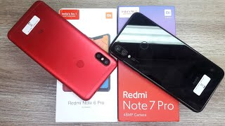 Redmi Note 6 Pro Special Edition Red Colour vs Redmi Note 7 Pro - Which Should You Buy ?