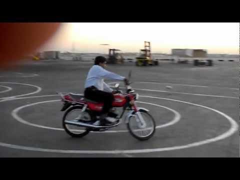 Motorcycle Skills Tests in Abu Dhabi. UAE