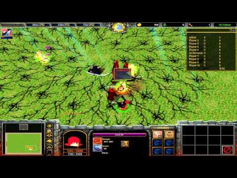 Warcraft III: TFT - Naruto Battle Royal - 41 - Turnajek S01E04 - Zvrhlo se to
