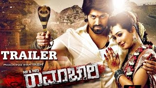 Mr & Mrs Ramachari - Official Trailer | Yash | Radhika Pandit | V Harikrishna