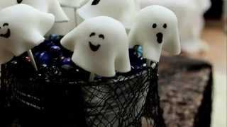 Spooky Ghost Cake Pops with Juliet Sear