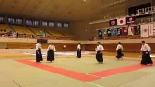松本武道祭(平成28年11月23日)合気道演武