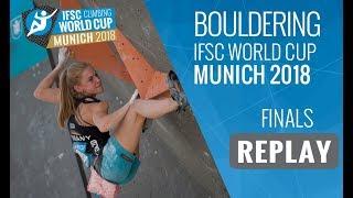IFSC Climbing World Cup Munich 2018 - Bouldering - Finals - Men/Women