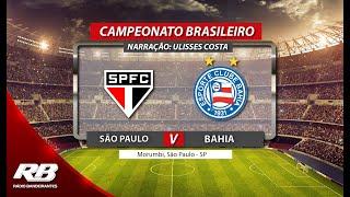 Campeonato Brasileiro - São Paulo X Bahia - 19/05/2019 - AO VIVO