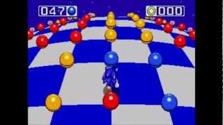 Music 3000 (PS2) - Sonic Special Stage Themes (16-Bit Era)