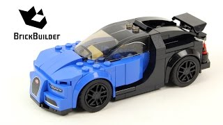 Lego Speed Champions 75878 Bugatti Chiron - Lego Speed build