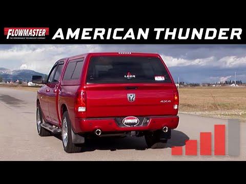 2009-2015 Dodge Ram 1500 - Cat-back Exhaust System - Installation - Kit # 817477