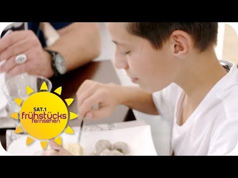 Kinder müssen Experiment abbrechen: Wie viel ist eine Portionsgröße | SAT.1 Frühstücksfernsehen | TV