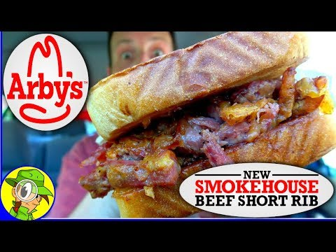 Arby's® | Smokehouse Beef Short Rib Sandwich | Food Review! 🤠🍖🍞 thumbnail