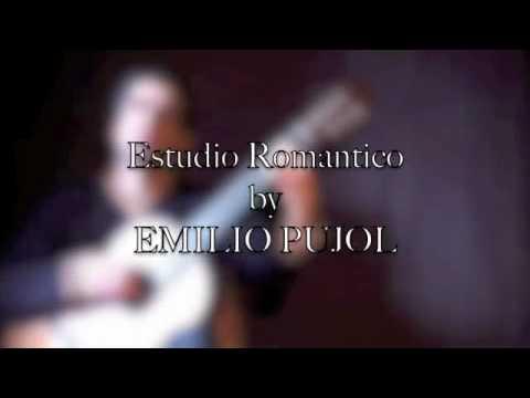 ESTUDIO ROMANTICO (EMILIO PUJOL)