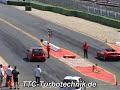 VW Golf R32 Twinturbo vs. Ferrari