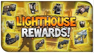 "Destiny : ""LIGHTHOUSE"" EXOTIC REWARDS! (Trials Of Osiris)"