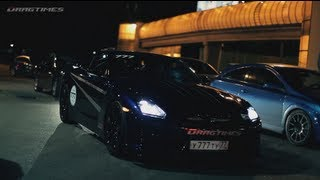 Lamborghini Gallardo UR Twin Turbo vs Nissan GT-R AMS Alpha 12+ (360 KPH / 224 MPH)