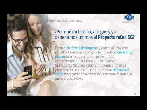 Presentación de negocio Internet mCell 5G