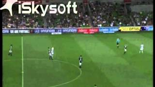 Petar Franjic - Melbourne Victory vs Perth Glory