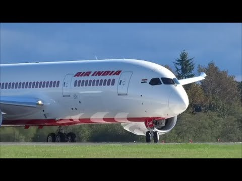 787 AIR INDIA VT-ANG Reject Take Off @ KPAE