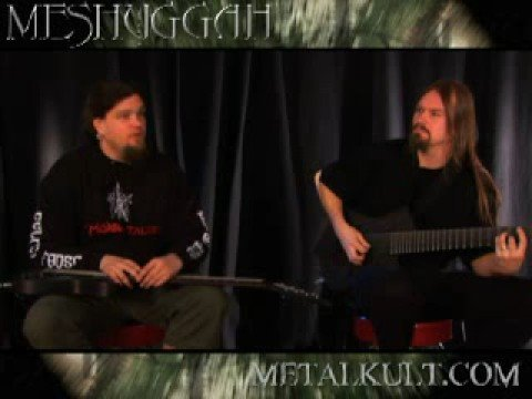 Meshuggah Metal Riff Lesson Part 1