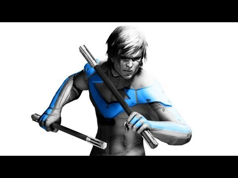Nightwing - Batman: Arkham City DLC