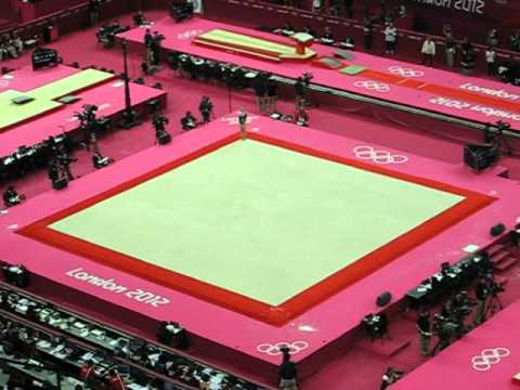 Annika Urvikko - Olympics 2012 Qualification Floor Routine