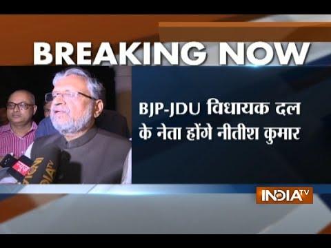 Nitish Kumar back to NDA fold, to form govt in Bihar with BJP