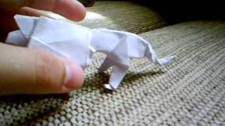 Origami Lion (robert J. Lang) (first Try)