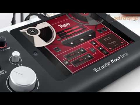 Focusrite iTrack Dock - iPad Recording Interface